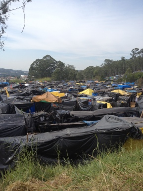 In Brazil, tent cities rise to protest World Cup construction